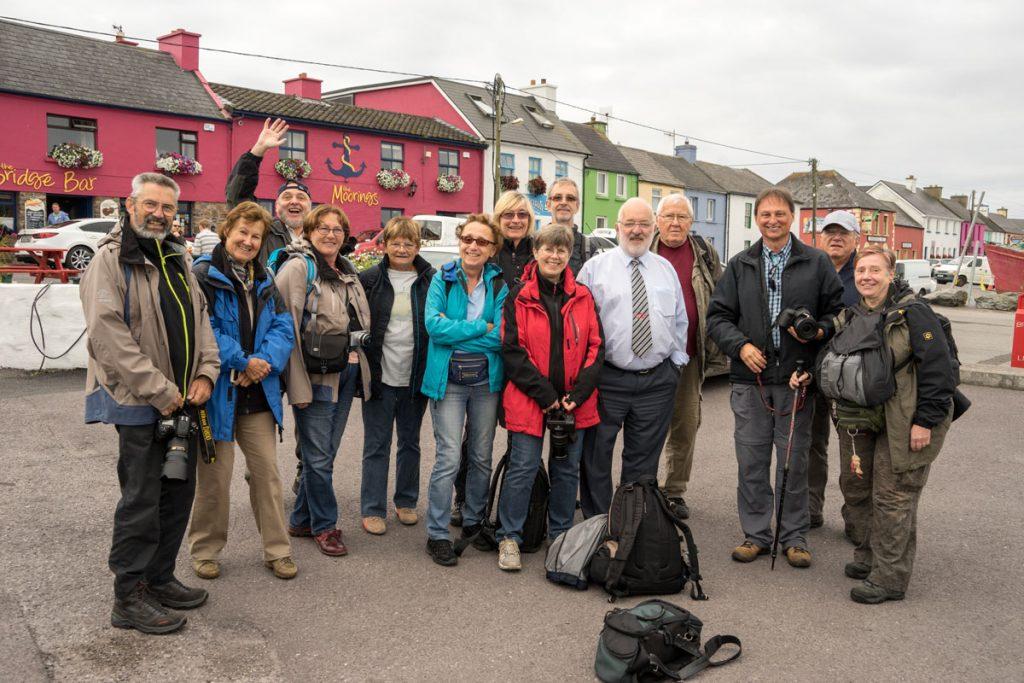 Ein Teil unserer Fotogruppe auf Fotoreise in Irland